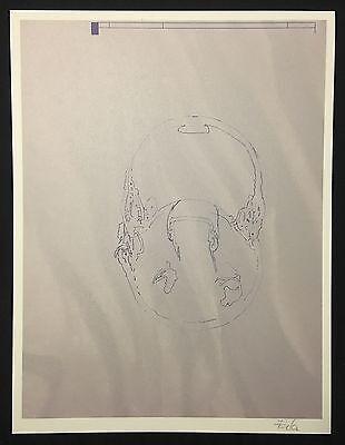 Bogomir Ecker, Druck IV, Sieb und Offsetdruck, 2012, handsigniert