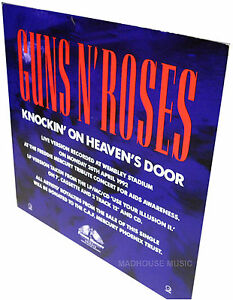 GUNS-N-ROSES-Knockin-On-Heavens-Door-UK-PROMO-Only-Standee-DISPLAY-Stand