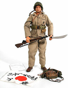 Ultimate-Soldier-21st-Century-Toys-WWII-1-6-USMC-MARINE-PRIVATE-gear-MORE