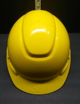 3M Hard Hat High visibility yellow Fits 6 5/8- 7 3/4  Hat