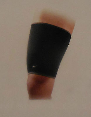 Nike Adult Unisex Thigh Sleeve X-Large Color Black/Dark Charcoal New