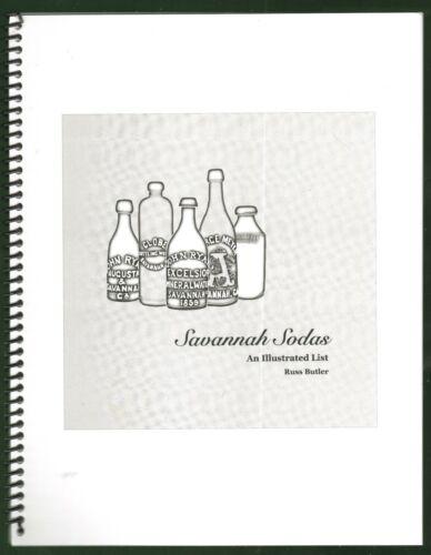 "Russ Butlers ""Savannah Sodas""  Sodas, Mineral Waters, Porter & Ales-Price Guide"
