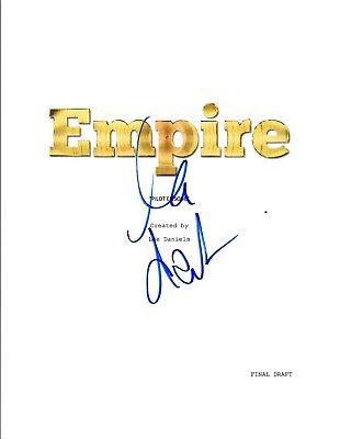 Lee Daniels Signed Autographed EMPIRE Pilot Episode Script COA VD (Empire Pilot Episode)