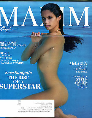 Maxim Magazine May 2016 Sara Sampaio Ex 062316Jhe