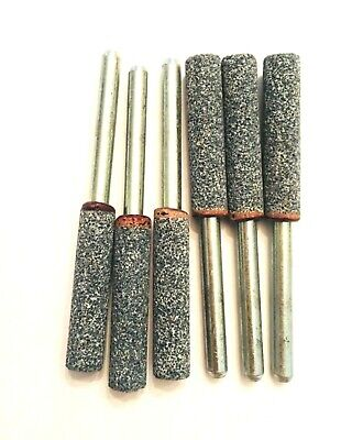 Chain Saw Sharpening Grinding Stone Bit Unthreaded Dremel 453 454 455 - 6 Pieces