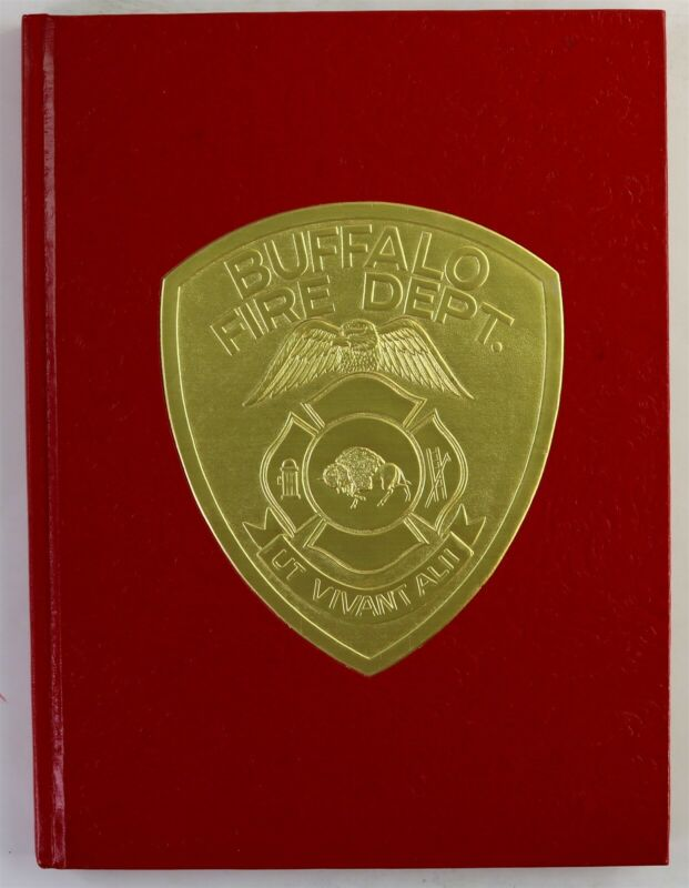 Buffalo Fire Department 1980 Yearbook NY New York Firefighter History Book