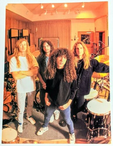 MEGADETH / DAVE MUSTAINE / MAGAZINE FULL PAGE PINUP POSTER CLIPPING + DVD (3)