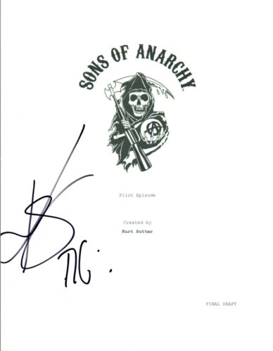Kim Coates Signed Autographed SONS OF ANARCHY Pilot Episode Script COA VD
