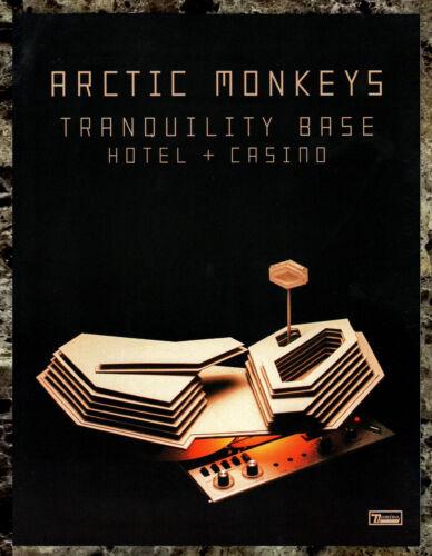 ARCTIC MONKEYS Tranquility Base Hotel + Casino 2018 Ltd Ed RARE Mini-Poster Sign
