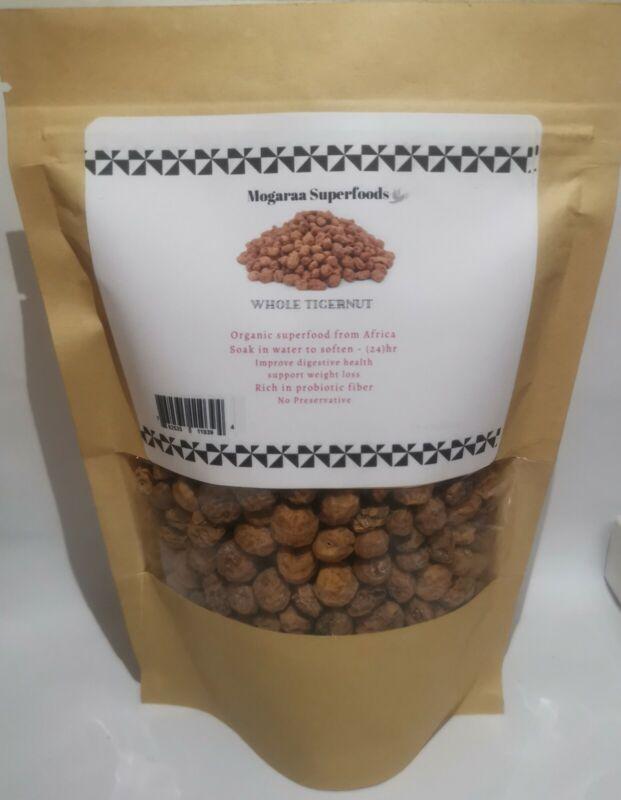 West African Tiger Nuts Organic Raw Tigernut for Keto Diet 8 oz Sun Dried