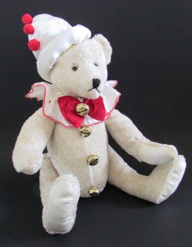 "Mark Roberts White Christmas Teddy Bear 14"""