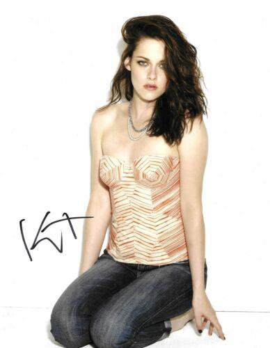 Kristen Stewart Signed 10x8 Photo AFTAL