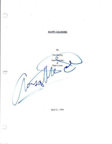 Christopher McDonald Signed Autographed HAPPY GILMORE Movie Script COA VD