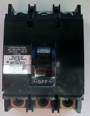 Square D Circuit Breaker Q2l3100 100 Amp 240v Used No Box Sold As Is