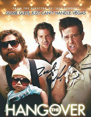 Zach Galifianakis Signed Autographed 8X10 Photo The Hangover The Campaign