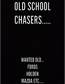 Wanted: OLD SCHOOL CARS WANTED