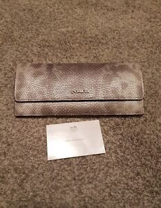 Authentic Coach Python Wallet NEW!!!!