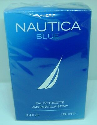 NAUTICA BLUE COLOGNE LARGE 3.4OZ BRAND NEW PERFECT GIFT