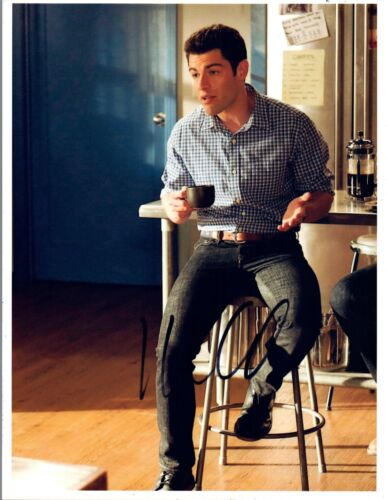 Max Greenfield Signed Autographed 8x10 Photo New Girl Star COA VD