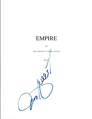 Terrence Howard Signed Autographed EMPIRE Pilot Episode Script COA  (Empire Pilot Episode)