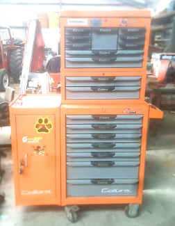 18 Draw Toolbox Roller cab and cabinet