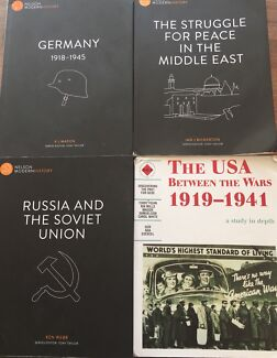 Year 11 and 12 History books
