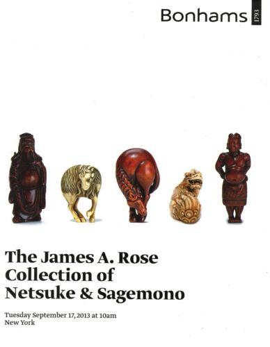 96 ea. Antique Japanese Netsuke Sagemono + Signatures Values / Scarce Book