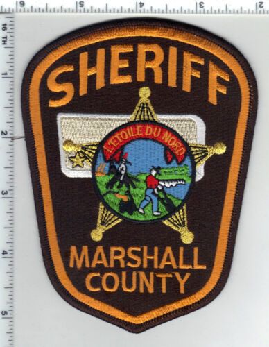 Marshall County Sheriff (Minnesota) 3rd Issue Shoulder Patch