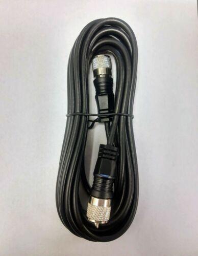 18 Foot RG-58 A/U CB Antenna Coax Cable w Molded PL-259 Connectors 18ft
