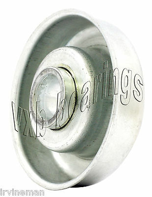 Gravity Conveyor Rollers Flanged Bearing 12mm X 35.3mm