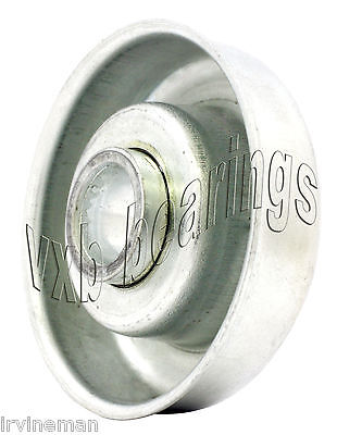 Conveyor Roller Flanged Bearing 12x47.6 Mm Metric Ball