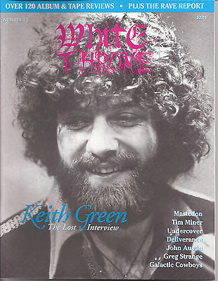 White Throne #13 Christian Metal Magazine Keith Green