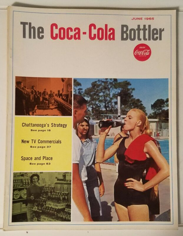 THE COCA-COLA BOTTLER - VINTAGE MAGAZINE - JUNE 1965