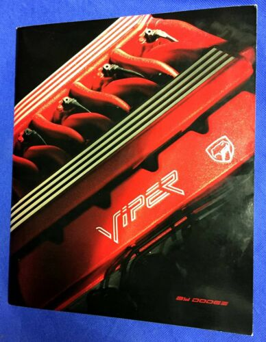VIPER BY DODGE FIRST CATALOG 1992 SALES BROCHURE