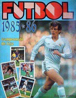 ALBUM CROMOS FUTBOL 85-86 LISEL FACSIMIL COMPLETO Y NUEVO