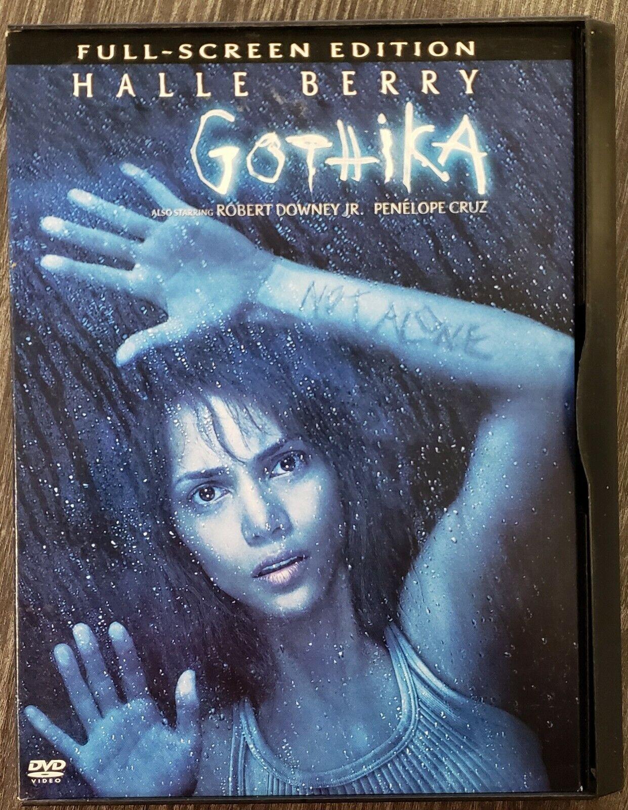 GOTHIKA - DVD - NO RESERVE - Halle Berry - Robert Downey Jr - Penelope Cruz - $0.01