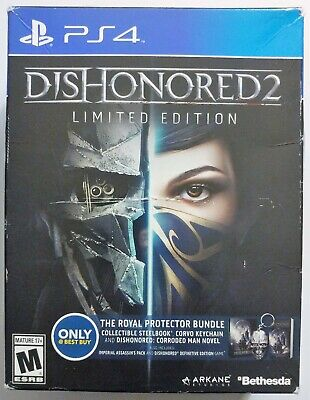 Dishonored 2 Limited Edition PlayStation 4 PS4 Royal Protector Bundle Best (Best Boxing Game Ps4)