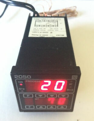 S B Controls 2050 Digital Temperature Panel Meter Used
