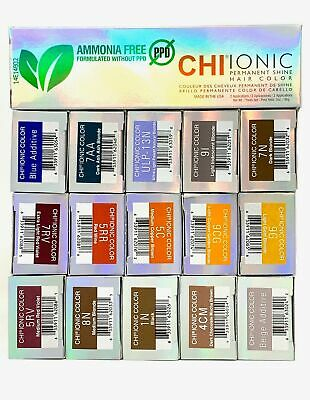 CHI Ionic Permanent Shine Hair Color - Ammonia & PPD -