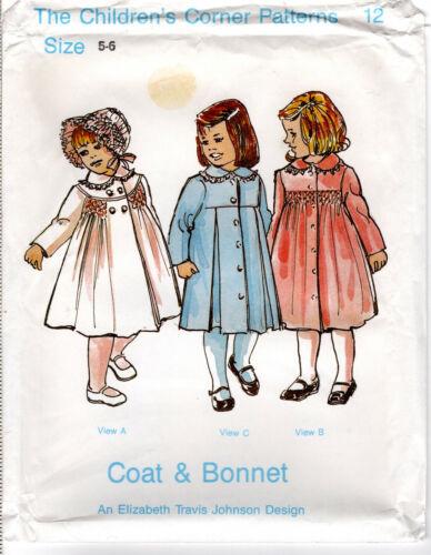 """Coat & Bonnet"" ©1980 CHILDREN"