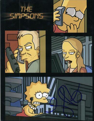 MARY LYNN RAJSKUB signed (24)The Simpsons 8X10 photo *Chloe O'Brian* W/COA