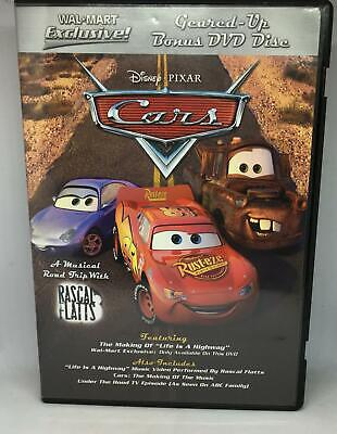 Disney Pixar Cars Geared Up Bonus DVD Disk
