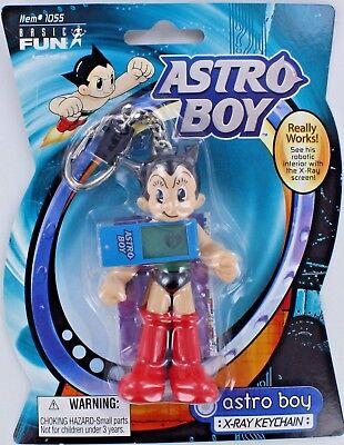 ASTRO BOY Mighty Atom X-Ray Astroboy Keychain Keyring Manga Robot Anime Retired