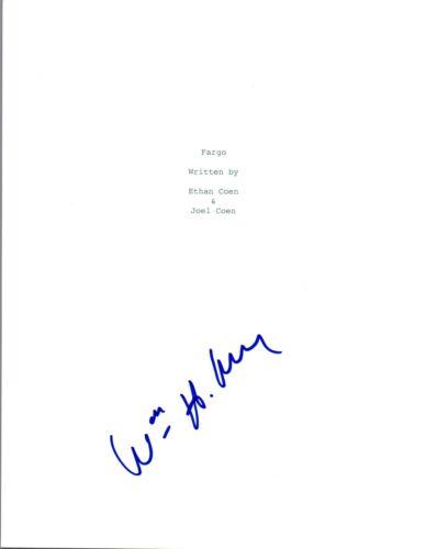 William H Macy Signed Autographed FARGO Full Movie Script COA VD