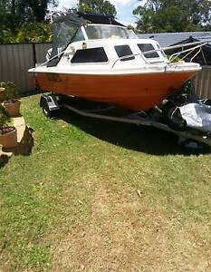4.5 mtr boat for sale Bethania Logan Area Preview