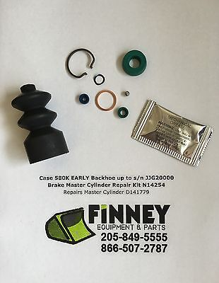 Case 580k Early Backhoe Brake Master Cylinder Repair Kit N14254 Repairs D141779