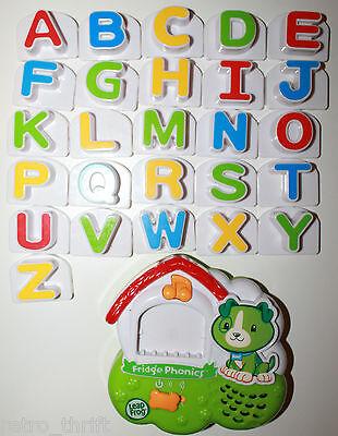 Leap Frog LeapFrog Fridge Phonics Magnetic Large Alphabet Complete Set Doghouse