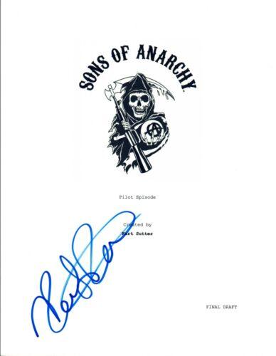 Kristen Renton Signed Autographed SONS OF ANARCHY  Pilot Episode Script COA VD