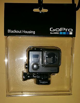 Genuine OEM GoPro Blackout Housing for HERO4 HERO3+ HERO3  NO TAX -FREE SHIPPING