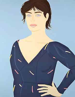 "Alex Katz - ""Grey Dress"", hand-signed screen-print"